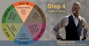 Quality of Giving [Part 4 of 6] Customer Service Foundation Wheel